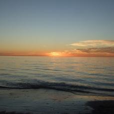 Sunset Brighton Beach SA