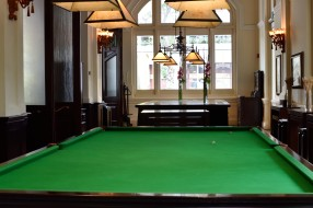 Billiard table back to the day job
